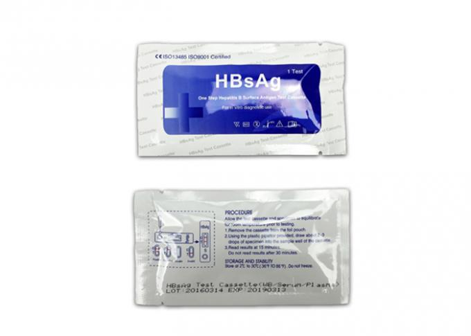 High Accuracy HBsAg  Rapid Diagnostic test CassetteWhole Blood/Serum/Plasma Specimen easily and quick operation