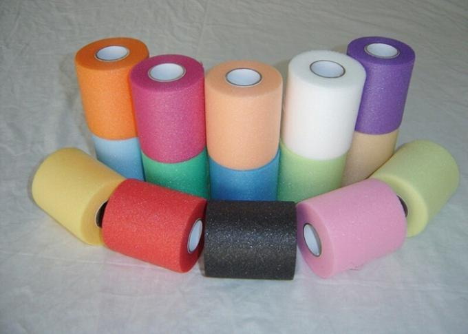 Multi Color PU Sports Bandage Tape Great Extention Prevent Skin Irritation