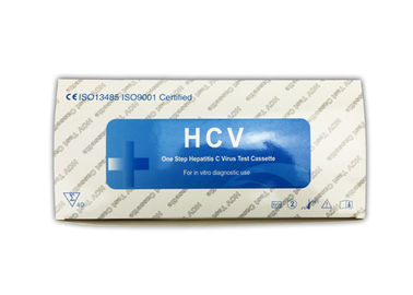 China Quick Operation HCV Rapid Test Kit 4mm Cassette 24 Months Shelf Life FDA Approved supplier