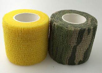 China Elasticity Sports Bandage Tape 5cm Width Self Adjustment Non-Sticky To Skin supplier