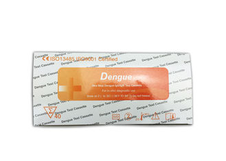 China One Step Dengue Test Kit Cassette Set Serum Specimen 24 Months Shelf Life supplier