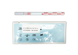 China Drug test MDMA  Rapid  test strip,4mm strip detecting Ecstasy in urine, Quickly, Gold colloidal method supplier