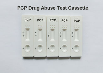 China High Accuracy Drug Test Kit PCP Rapid Diagnostic Test Dipcard,  25ng/ml cut-off, Phencyclidine in urine supplier