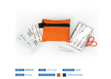 Light Weight First Aid Bag Multi Founction Zipper Close For Mountain Climbing