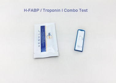 One Step H-FABP Cardiac Blood Tests Multiple Cassette Gold Colloidal For Health
