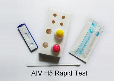 H5 Avian Influenza Test Kit Plasma Specimen Full Accessories 2-30 ℃ Storage Temp