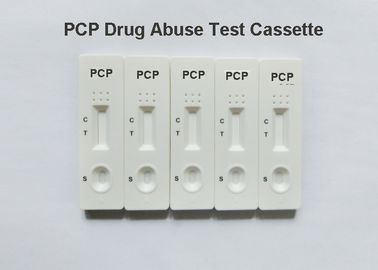 China High Accuracy Drug Test Kit PCP Rapid Diagnostic Test Dipcard,  25ng/ml cut-off, Phencyclidine in urine factory